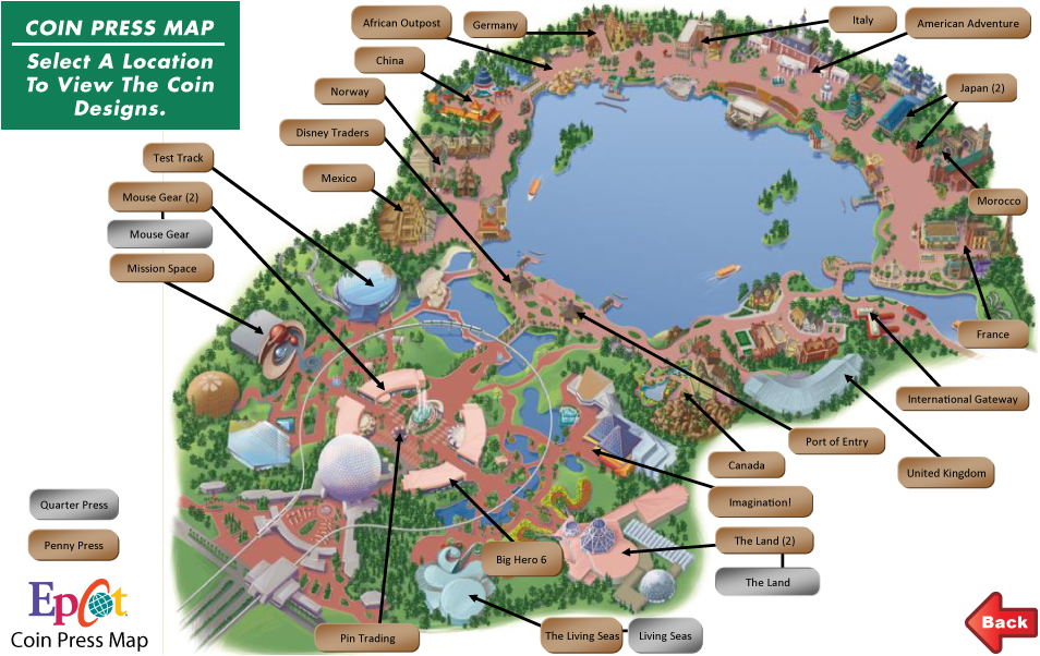 Map Epcot – CTM Group Inc. on